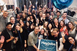 HeyJobs, a Berlin-based talent acquisition platform grabs 12 million from Notion Capital