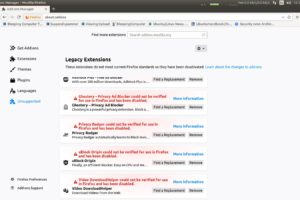 Mozilla states Firefox Add-Ons disabled as a Certificate was expired